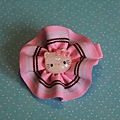 粉紅KT花輪