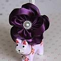 珍珠采花-高貴紫