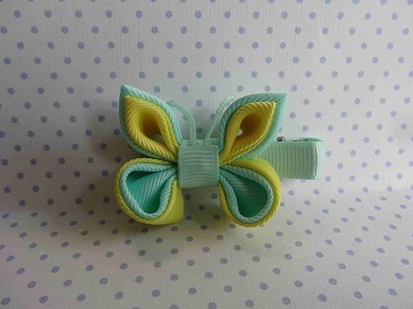 舞蝶兒-嫩黃綠