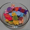 彩色糖果(粉紫、黃綠、紫橘、藍白、亮桃黃、膚紫紅)