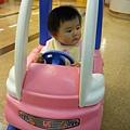 爸比媽咪帶我來信誼親子館開車車