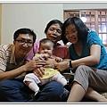 小安安第一次與全家人一起出遊