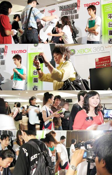 X BOX360忍者外傳2玩家體驗會場