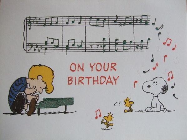 每年都會收到的Snoopy卡片