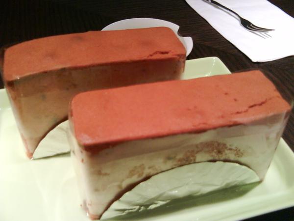 應該是地瓜蛋糕,很綿密