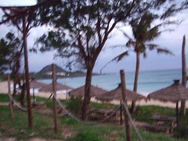 私人的沙灘