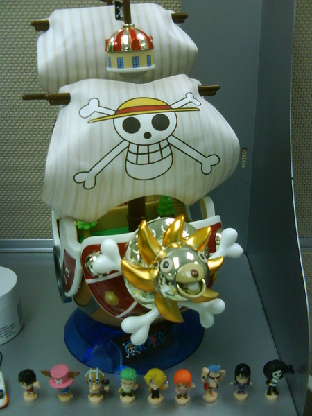 千陽號與海賊王人物