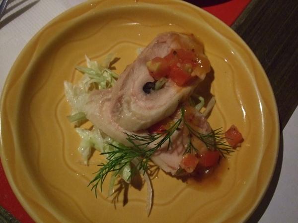 前菜:龍蛇蘭醉雞