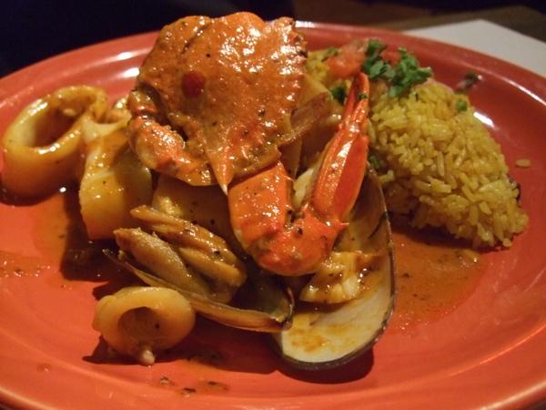 主菜:Amigo海鮮飯