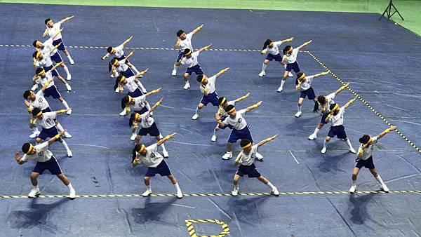 泓泓班上代班學校參加2017年小學三年級健身操比賽1