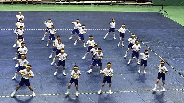 泓泓班上代班學校參加2017年小學三年級健身操比賽3