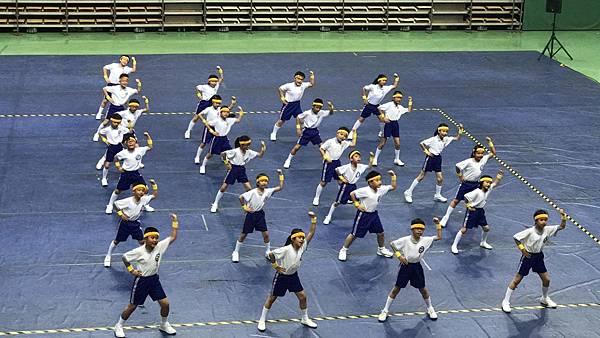 泓泓班上代班學校參加2017年小學三年級健身操比賽4