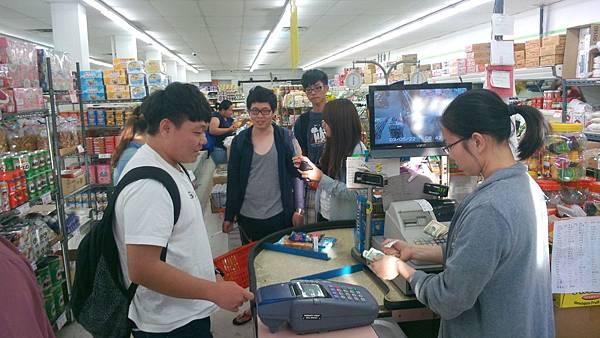中國城小超市儲備糧食