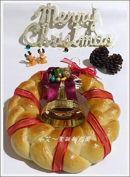 聖誕麵包圈DSC_1149
