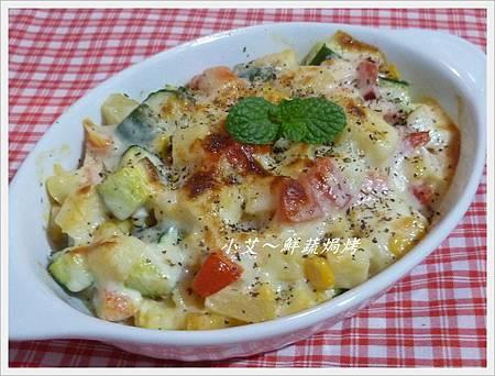 鮮蔬焗烤P1250524