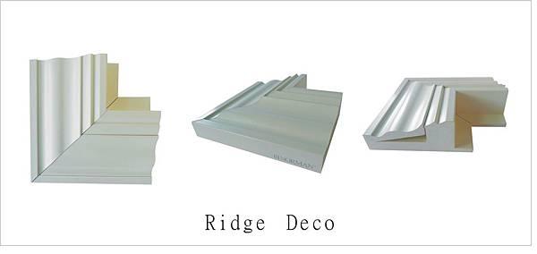 ridge deco