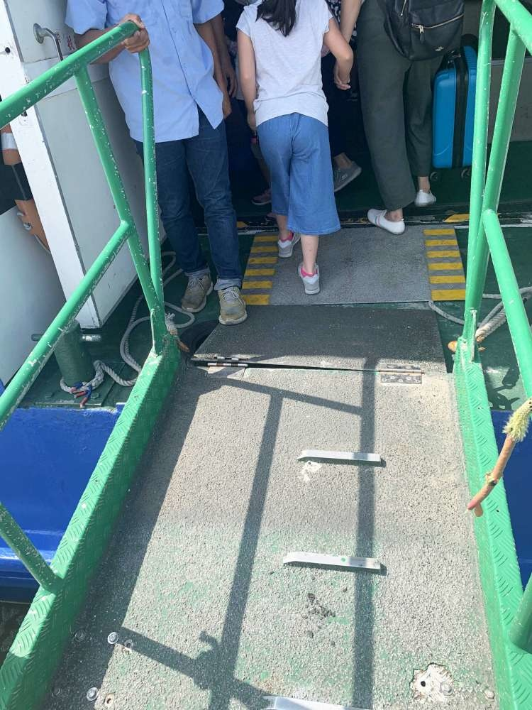 親子旅遊搭船