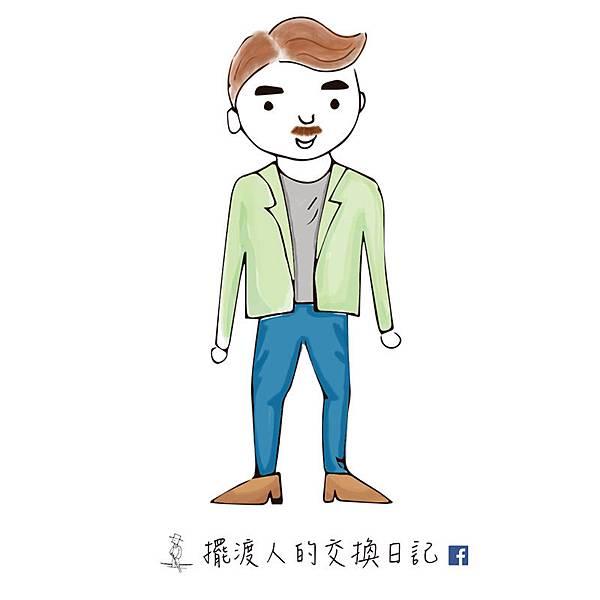 【大仁學長】擺渡人的交換日記男主角