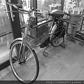 以前的叫賣工具~~腳踏車
