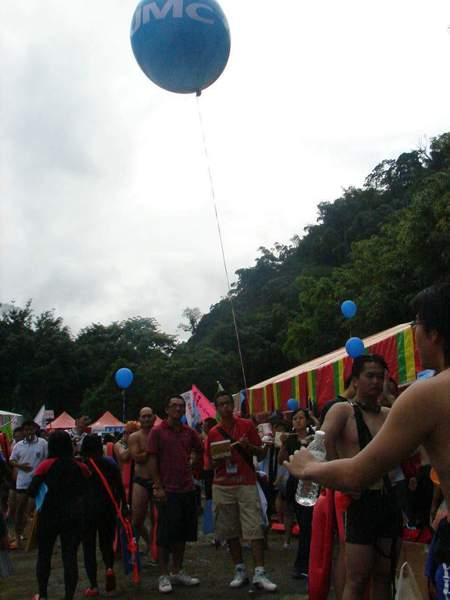 2007橫渡日月潭