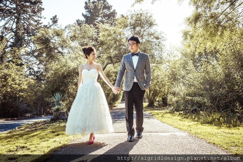 琪琪小姐 舊金山海外婚紗