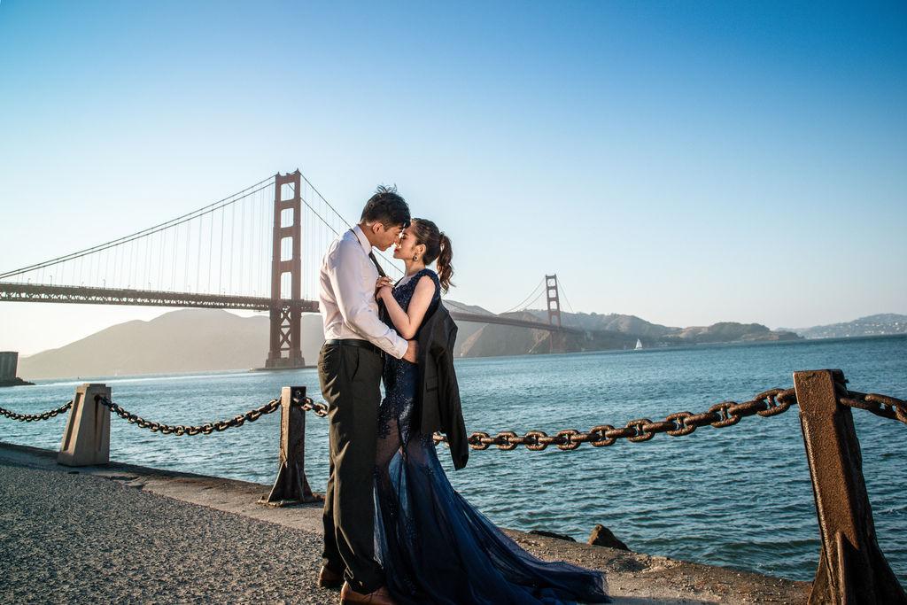 婚攝琪琪小姐舊金山海外婚紗