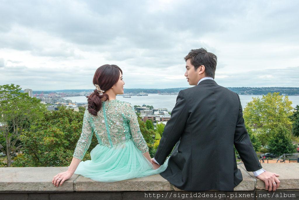 琪琪小姐西雅圖海外婚紗