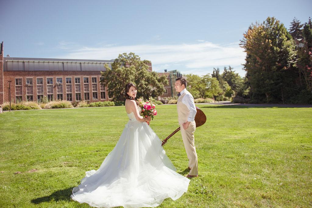 琪琪小姐 海外婚紗 美國西雅圖