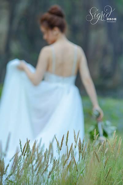 琪琪小姐 婚紗