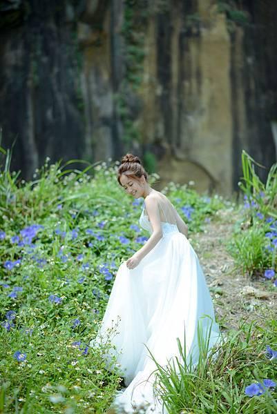 琪琪小姐 美式婚紗