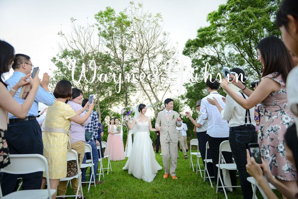 琪琪小姐 婚禮紀錄 wayne%26;Yushin 美式婚禮 戶外證婚