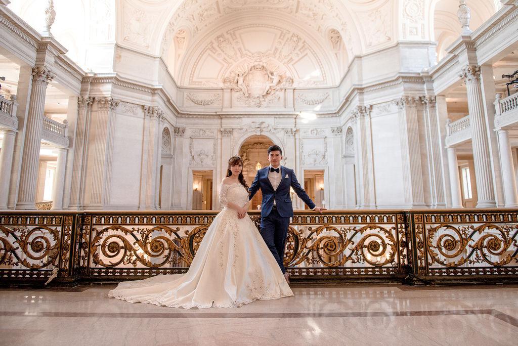 琪琪小姐 舊金山 海外婚紗