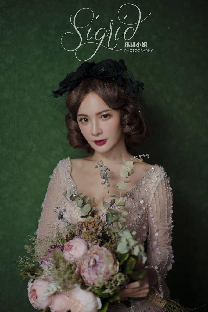 琪琪小姐 婚紗 寫真