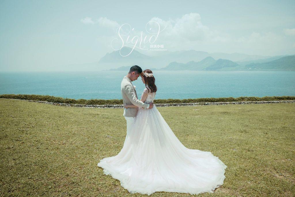 琪琪小姐 台灣婚紗