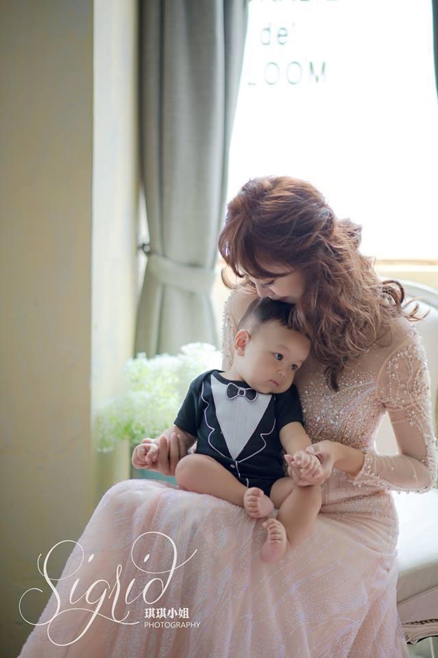 婚攝琪琪小姐 野蠻王妃十週年婚紗 全家福