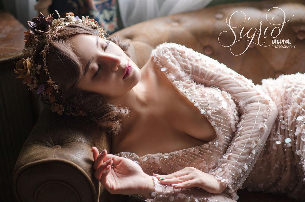 婚攝琪琪小姐 復古奢華浪漫婚紗 半生不熟蘋果誌