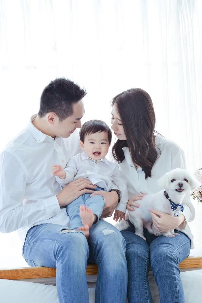 婚攝琪琪小姐 台北 親子寫真 全家福