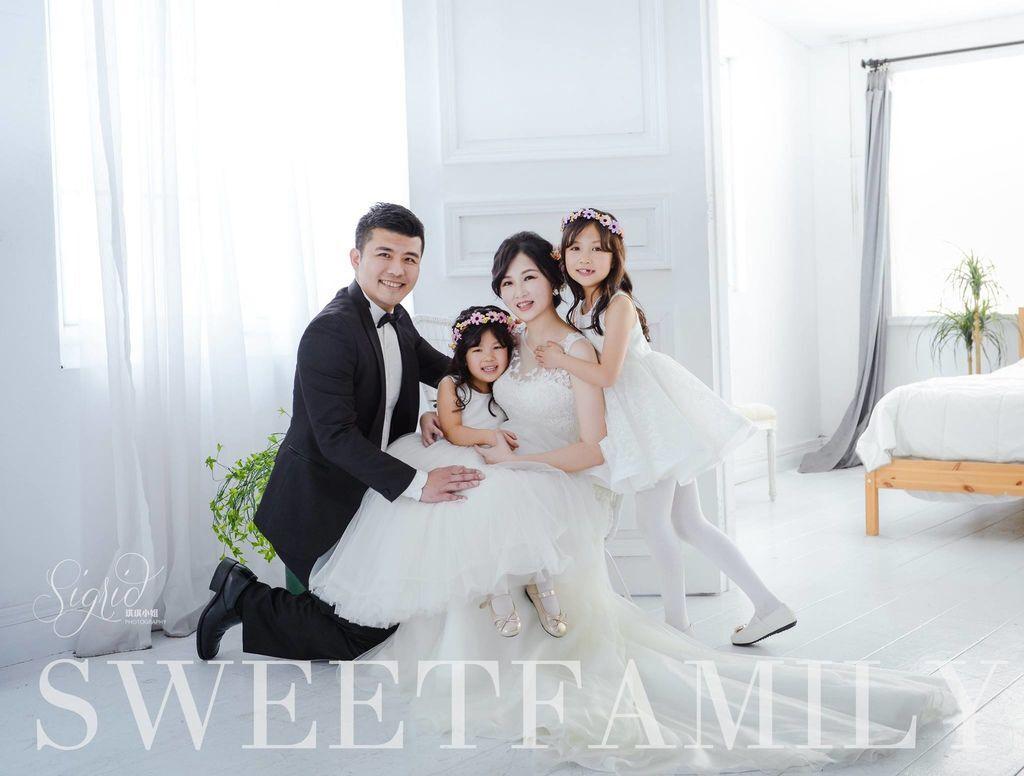 台北週年婚紗推薦 台北全家福推薦 琪琪小姐