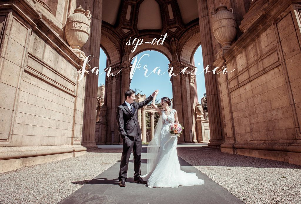 琪琪小姐 海外婚紗 舊金山拍婚紗 海外婚禮紀錄