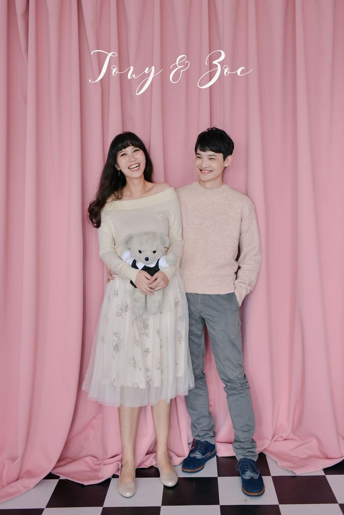 琪琪小姐與喬先生 便服婚紗