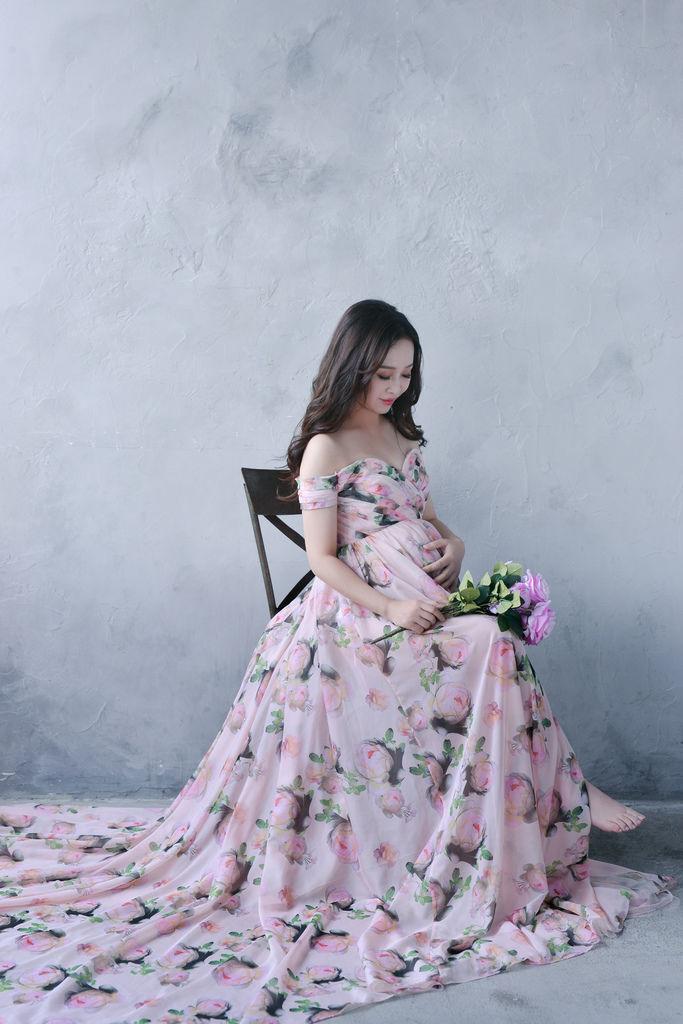台北孕婦寫真工作室 孕婦婚紗 女攝影師琪琪小姐