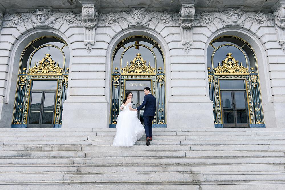 琪琪小姐與喬先生 舊金山海外婚紗 智為瑜欣