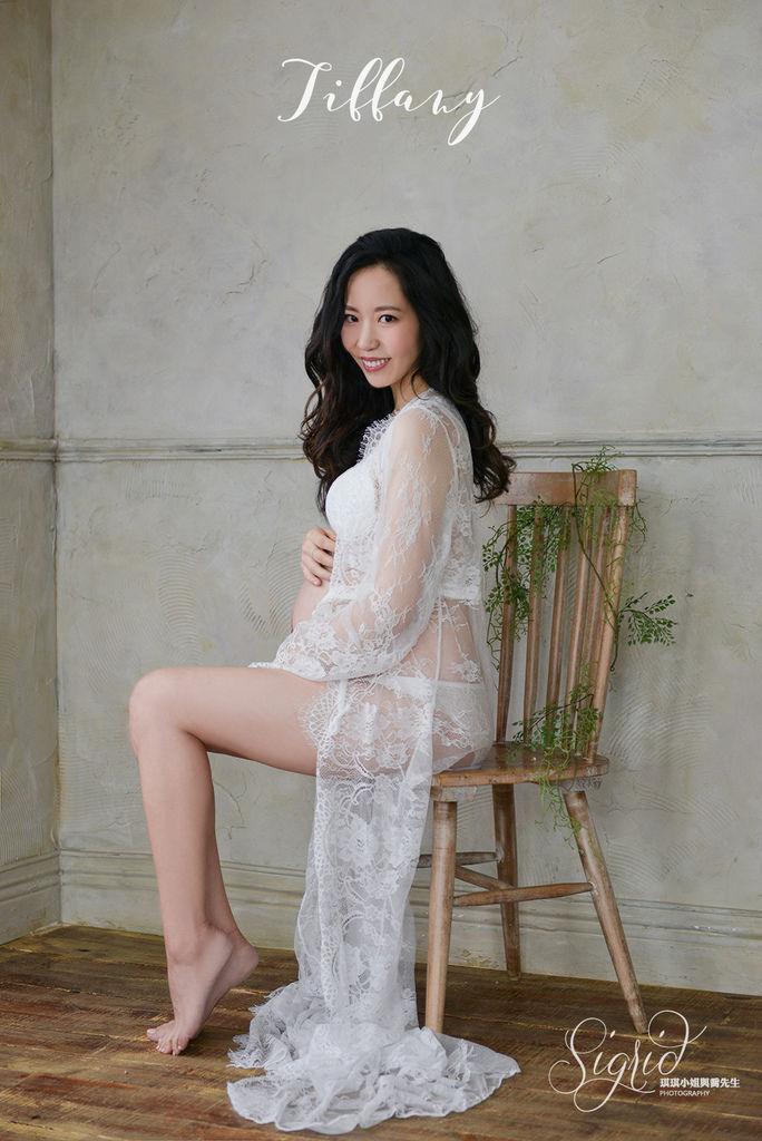 台北孕婦寫真 台北孕婦婚紗 女攝影師琪琪小姐與喬先生 Tiffany媽咪