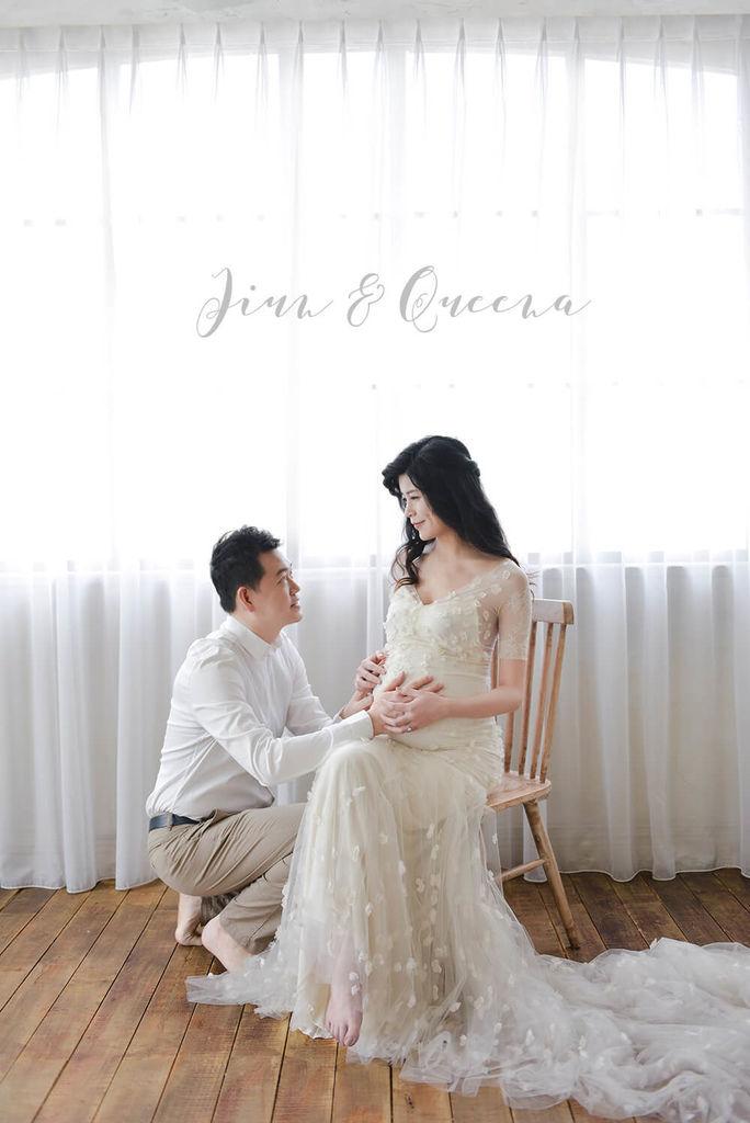 台北孕婦寫真 台北孕婦婚紗 女攝影師琪琪小姐與喬先生 Jiun %26; Queena