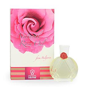 100% Natural Rose Oil (Rosa Damascema Mill) 10.0 ml in glass bottle