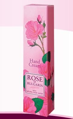 Hand cream ROSE OF BULGARIA