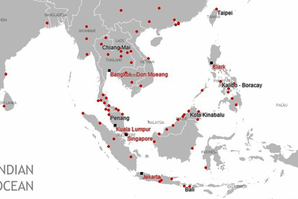 air-asia-route-map