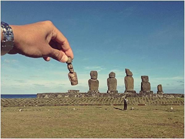 老實說...復活島的摩埃是阿桑我下的西洋棋!