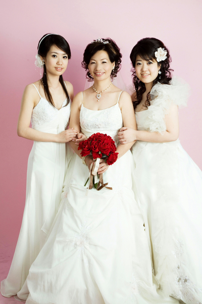 我家三個女人
