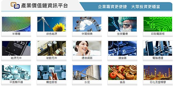 產業價值鏈資訊平台